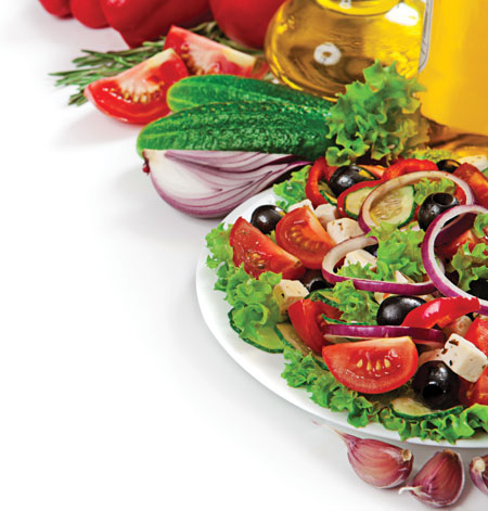 Mediterranean Diet Cuts Risk of Prostate Cancer, Image: Timmary/Shutterstock.com